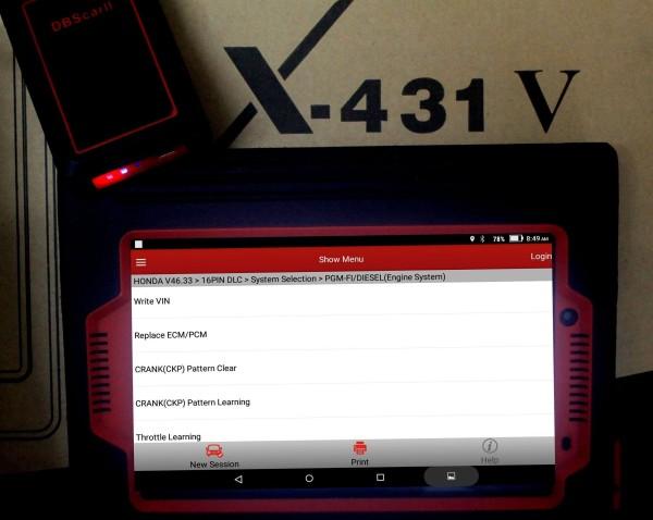 launch-x431-v-8inch-honda-functions-list